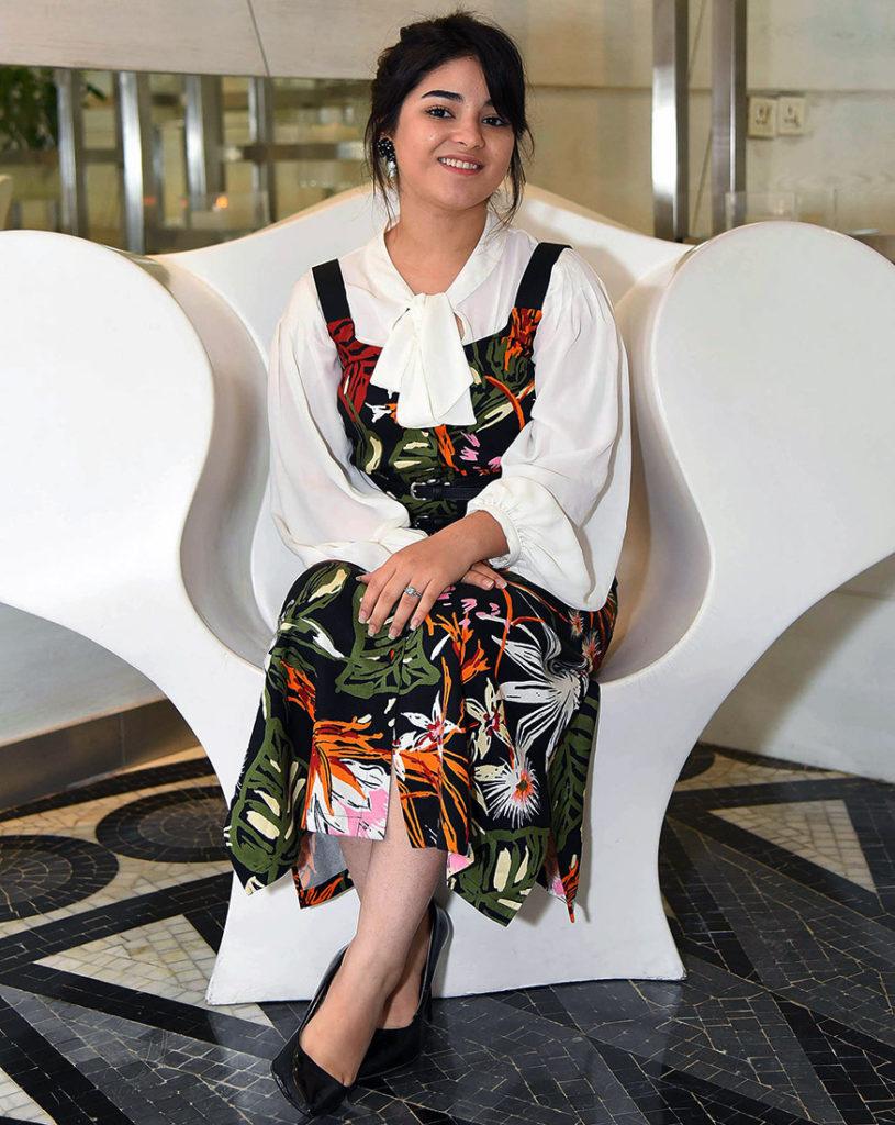 Zaira Wasim Hot In Short Clothes