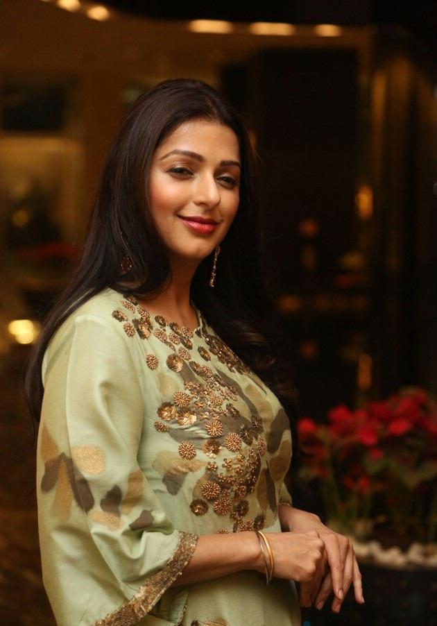 Bhumika Chawla Royal Look Pics