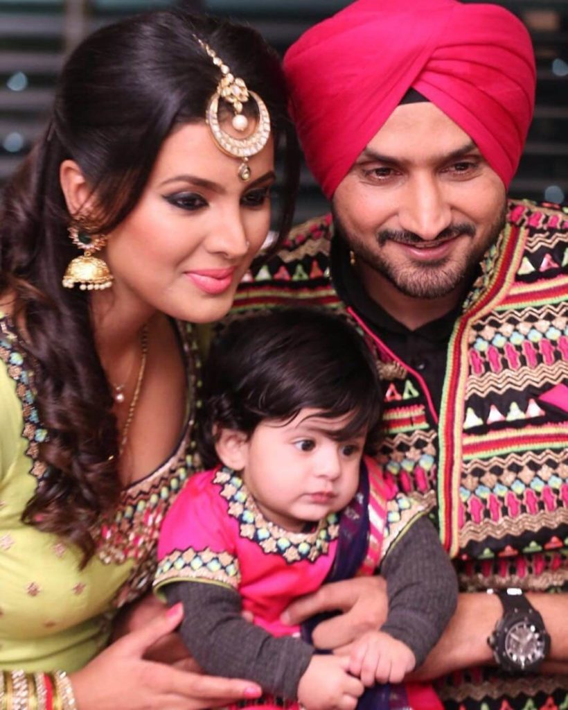 Geeta Basra Hot Images With Children