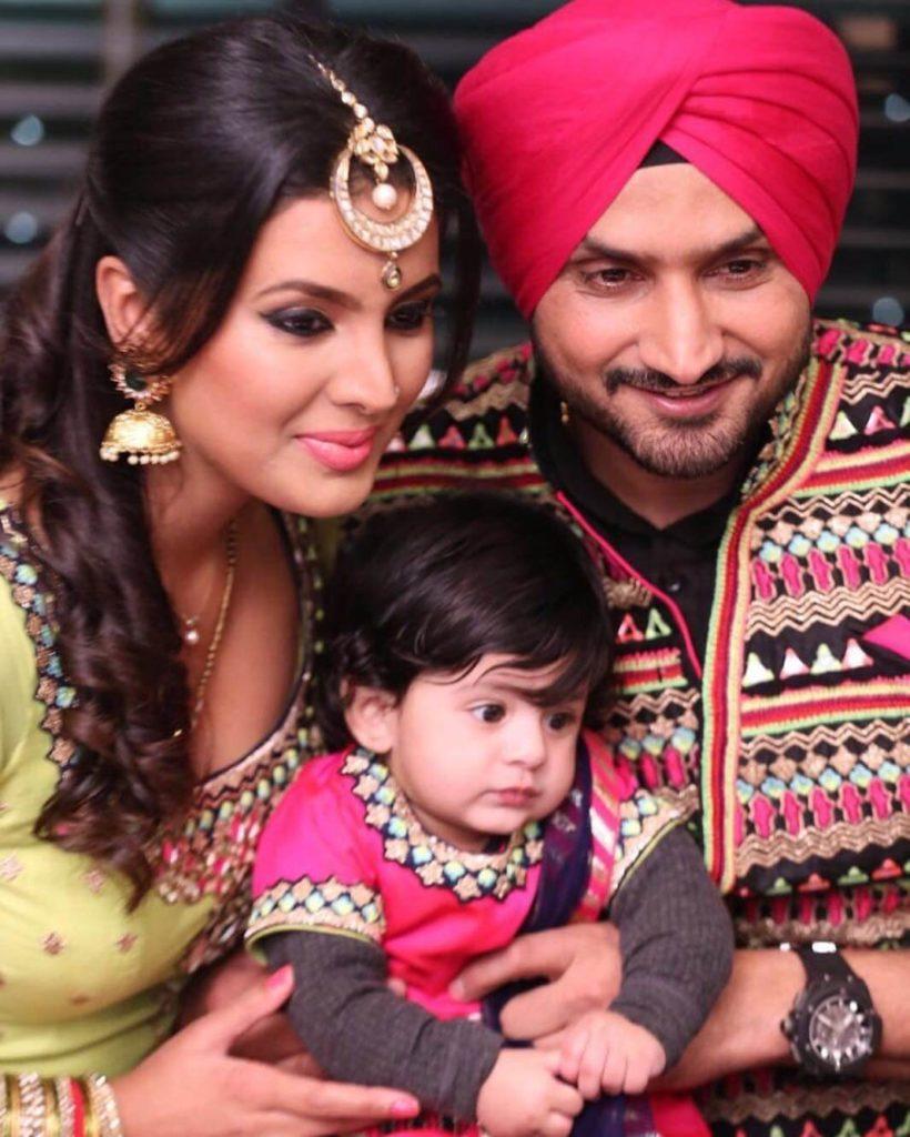 Geeta Basra Hot Images With Children