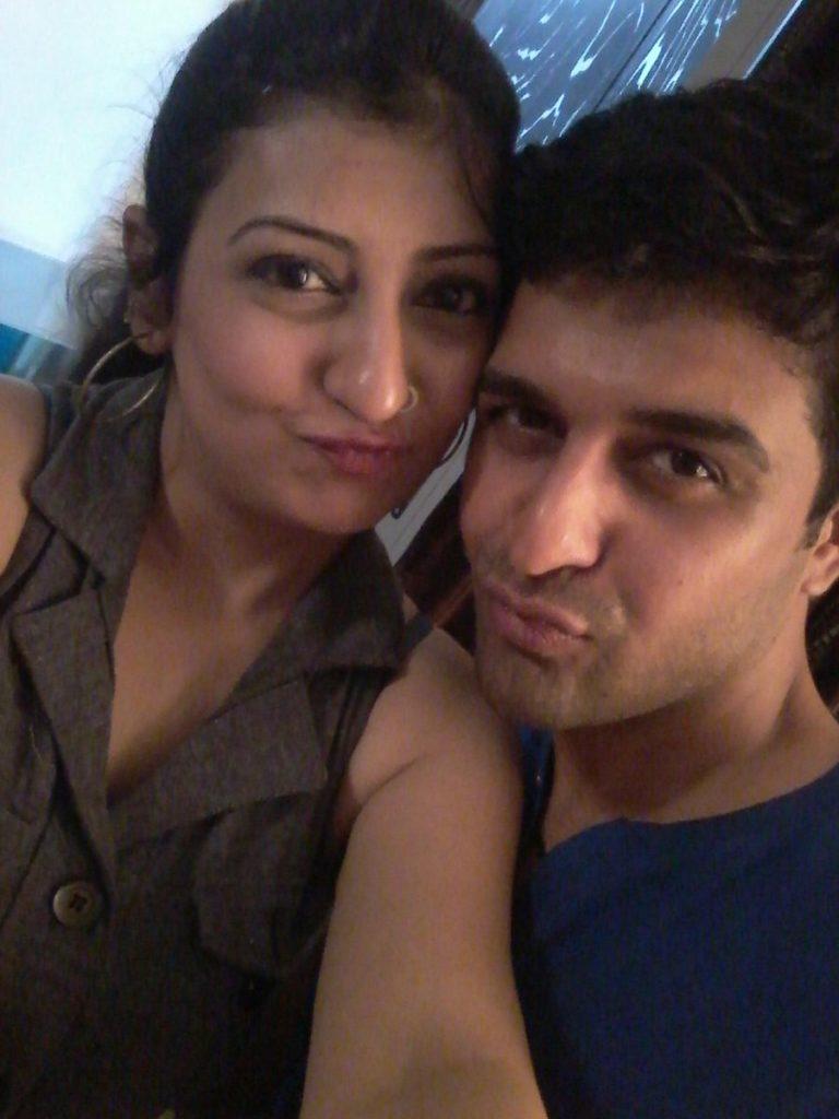 Juhi Parmar Hot Pics With Husband