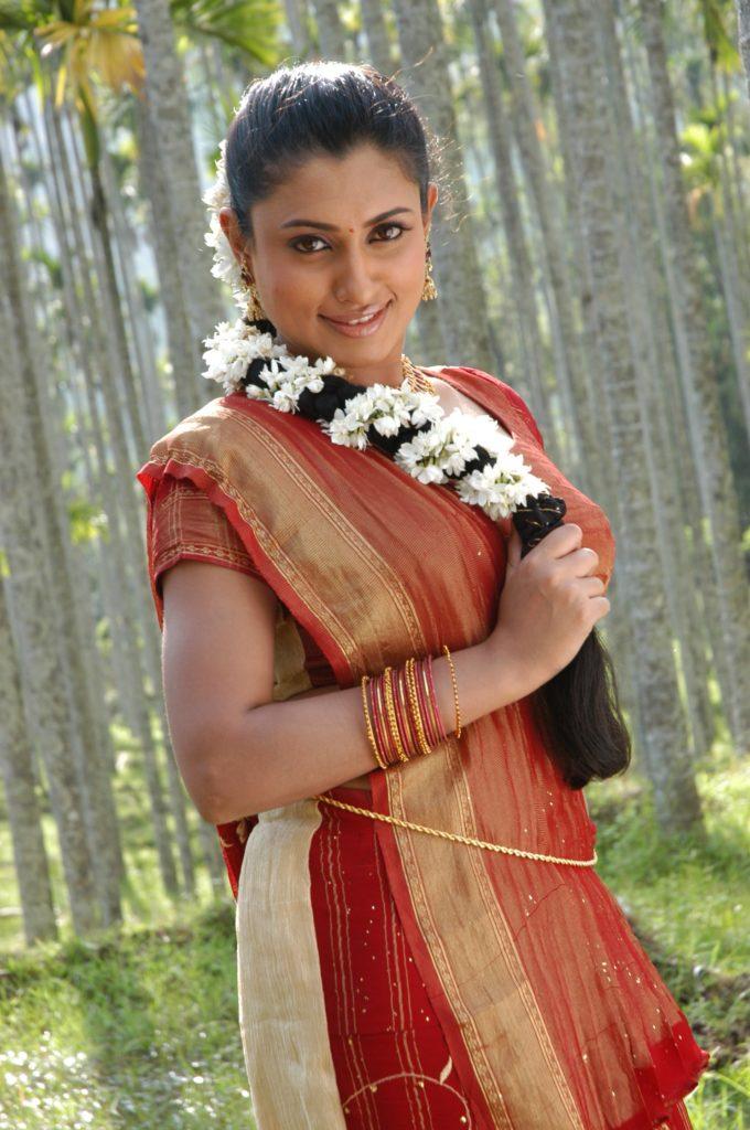 Malavika Hot & Sexy Images In Saree