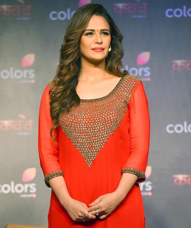 Mona Singh Serial Look Pics