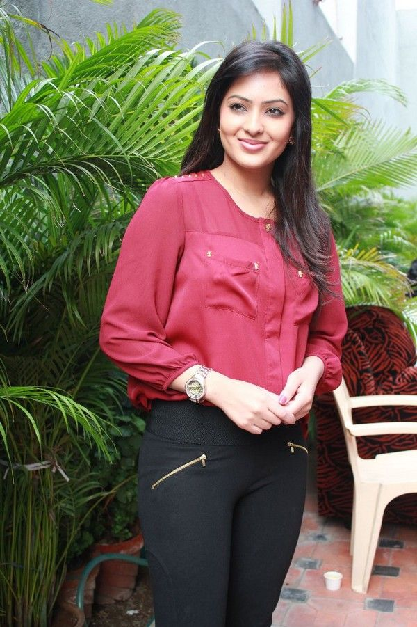 Nikesha Patel Hot Images In Jeans Top
