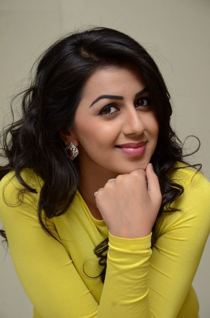 Nikki Galrani New Hair Style Images