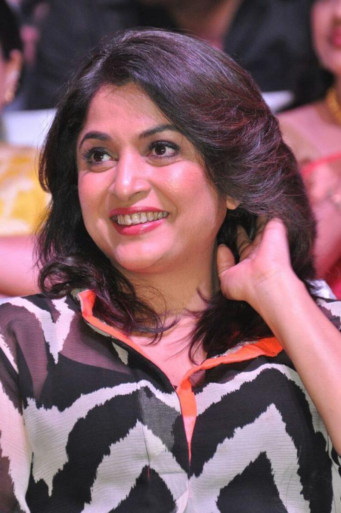 Ramya Krishnan Cute Smile Pics