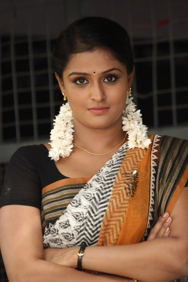 Remya Nambeesan Hot Images In Saree