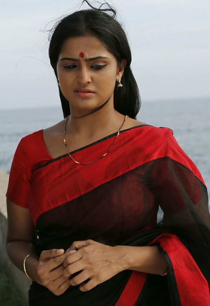 Remya Nambeesan Hot Pics In Saree