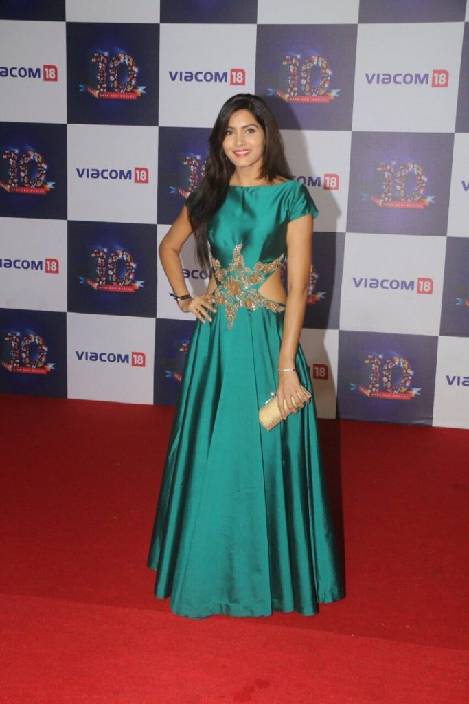 Sangeita Chauhan Wallpapers At Award Show