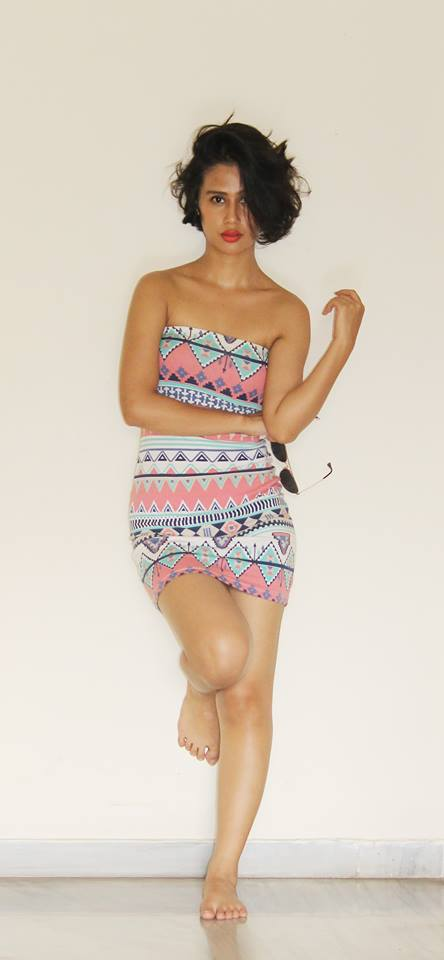 Sasha Chettri Images In Short Clothes