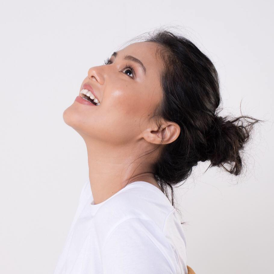 Sasha Chettri Smiling Pics