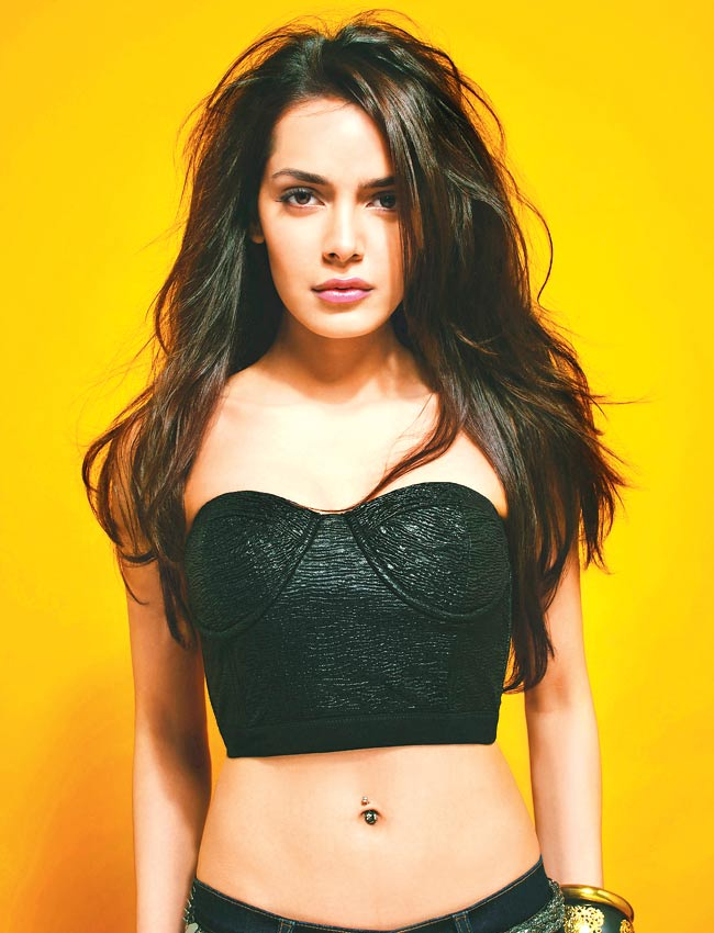Shazahn Padamsee Spicy Navel Showing Pics In Bra Panty