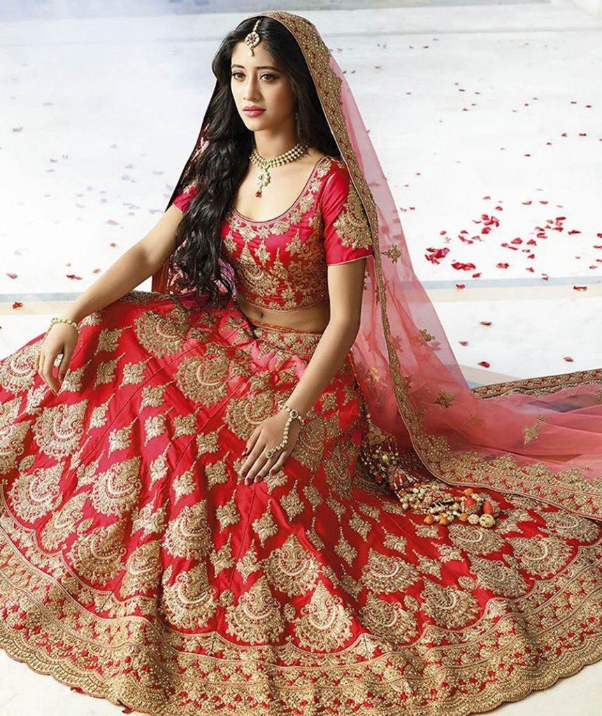 Shivangi Joshi Sexy Pics In Gagra Choli