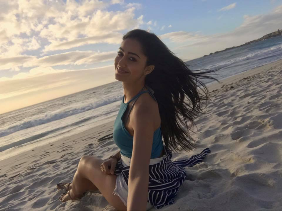 Tridha Choudhury Hot Photos In Undergarments