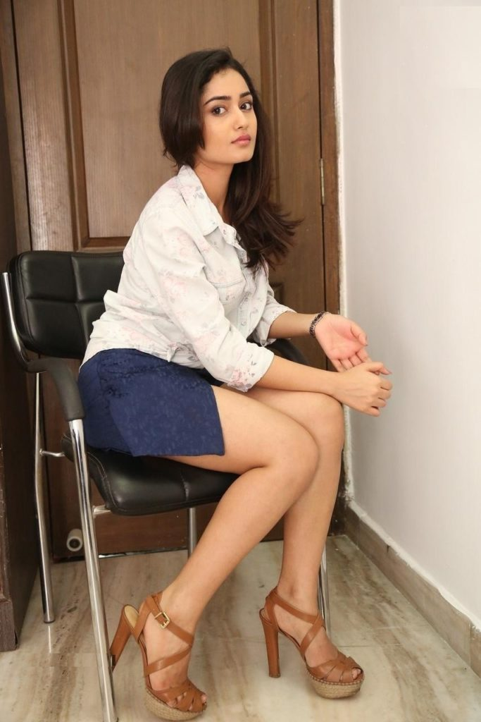 Tridha Choudhury Sexy Pics In Short Clothes