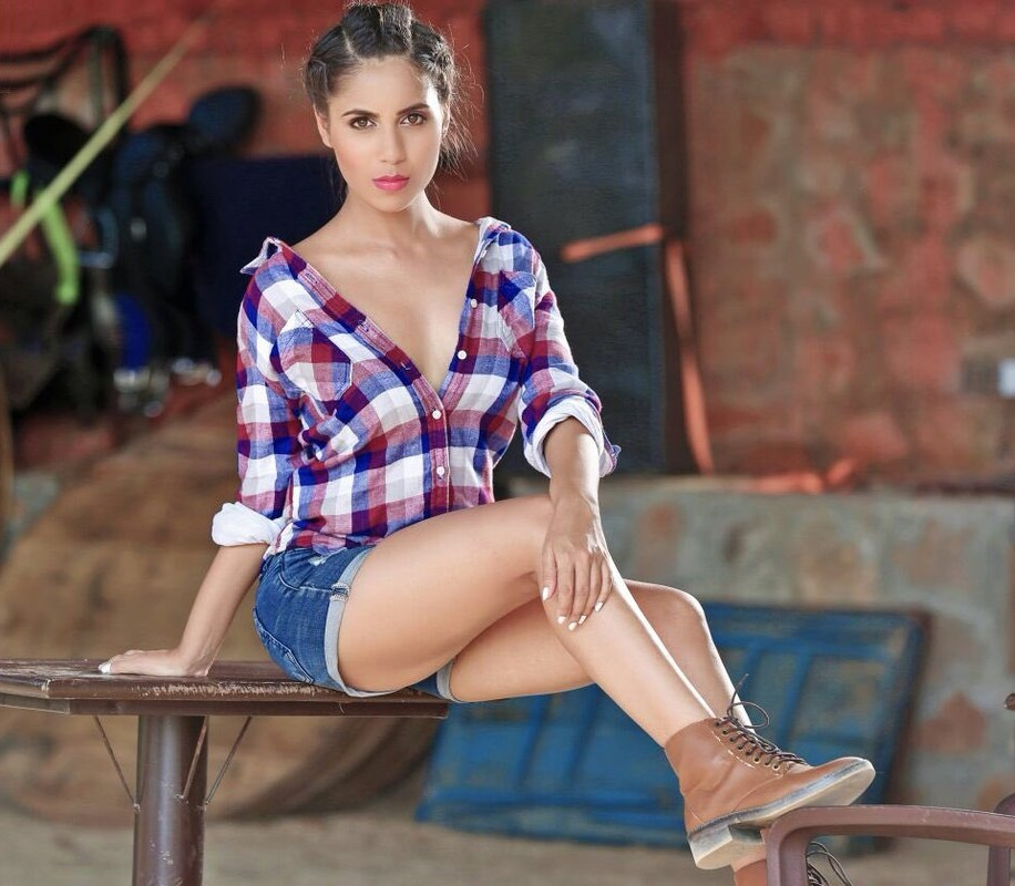 Vibha Anand Hot Thigh Showing Pics In Panty