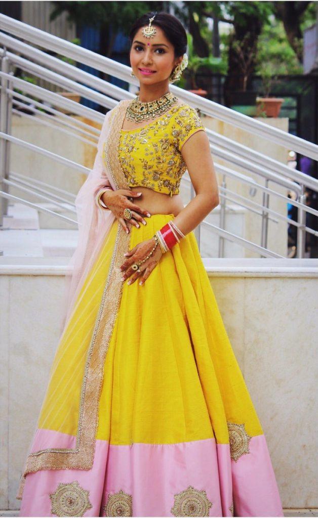 Vinny Arora Bold Unseen Pics In Gagra Choli