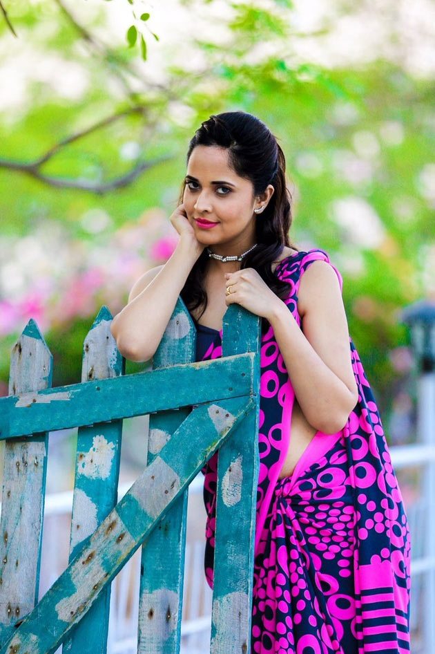 Anasuya Bharadwaj HD Images Photoshoot Gallery