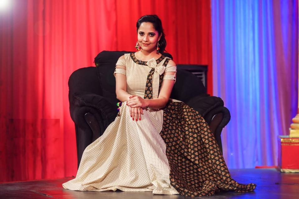 Anasuya Bharadwaj HD Sexy Pics At Event