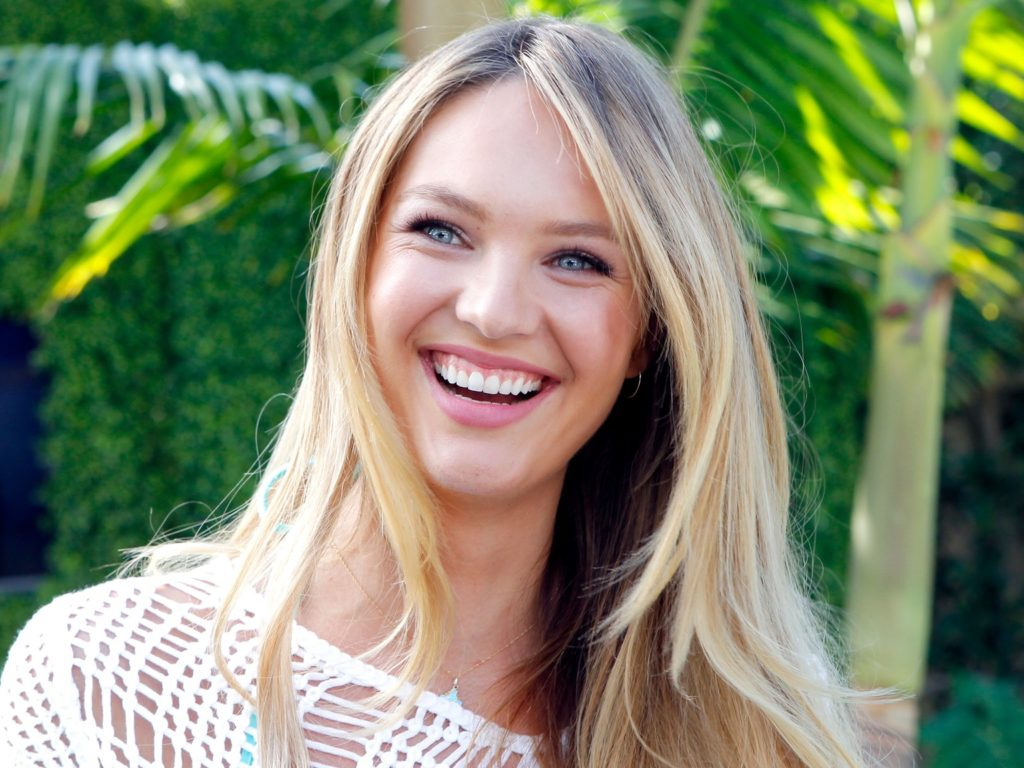 Candice Swanepoel Beautiful Smile Wallpapers