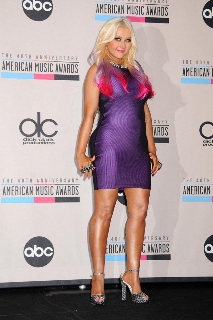 Christina Aguilera Upcoming Movie Look Pics
