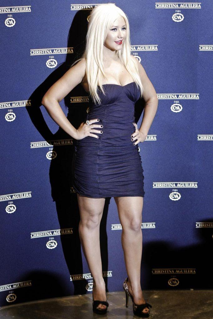 Christina Aguilera Wallpapers At Event