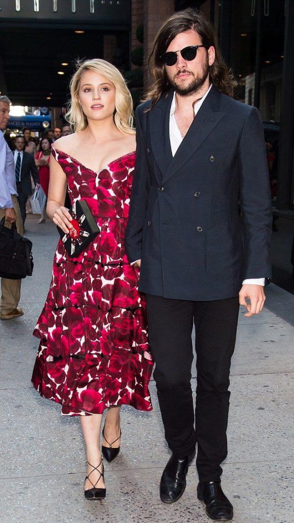 Dianna Agron Photos With His Boyfriend