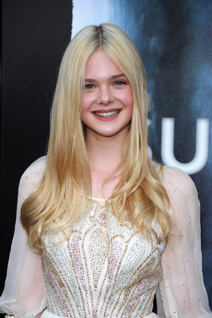 Elle Fanning Latest Hair Style Pictures