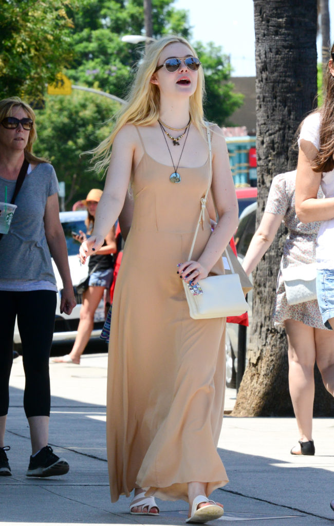 Elle Fanning Latest Look Imaegs