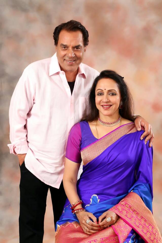 Hema Malini Hot Images With Dharmendra