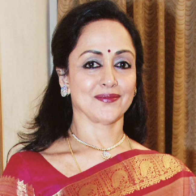 Hema Malini New Images In Saree