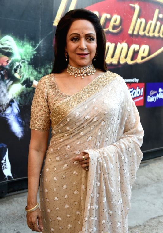 Hema Malini New Pics In Saree