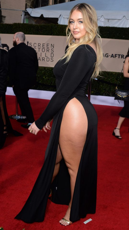 Iskra Lawrence Spicy Images