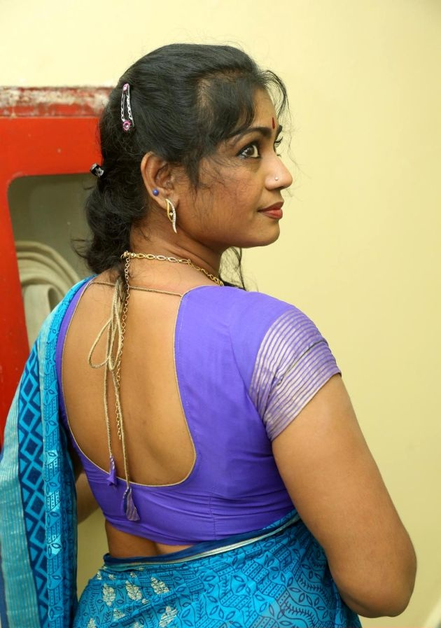 Jayavani Hot Images In Backless Clothes