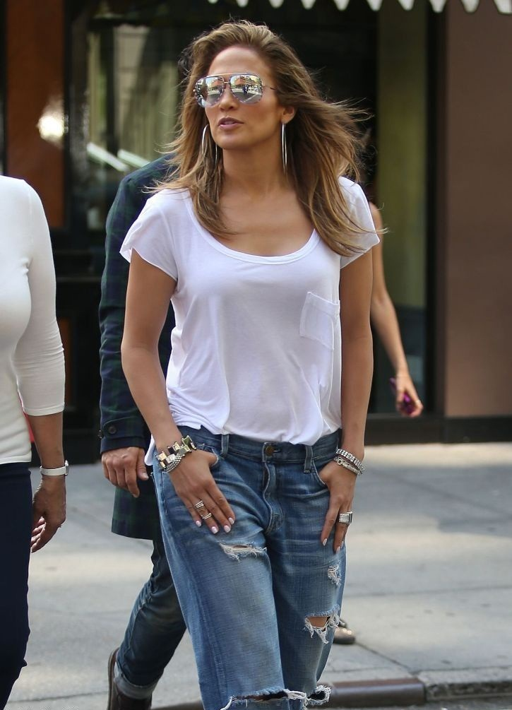 Jennifer Lopez Images In Jeans Top