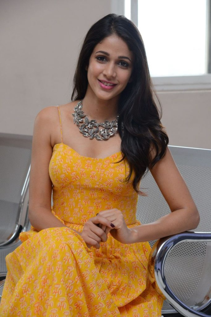 Lavanya Tripathi Hot & Sexy Pics In Yellow Clothes