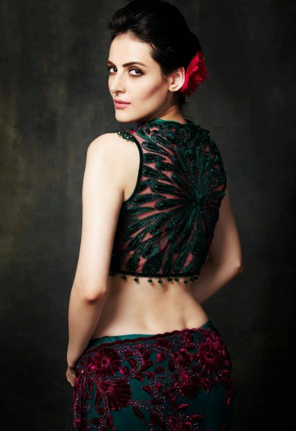 Mandana Karimi Hot & Bold Pics In Backless Clothes