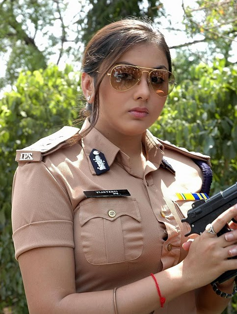 Namitha Hot HD Pics In Police Clothes