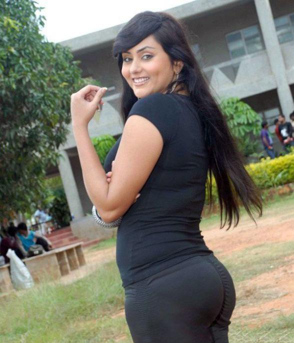 Namitha Hot Images In Backside