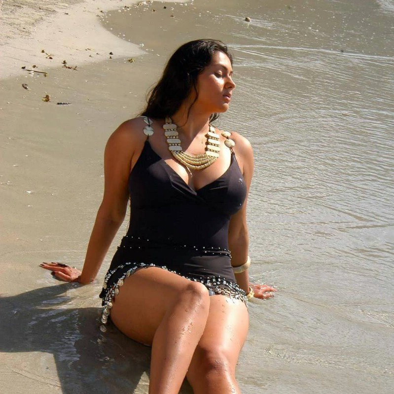 Namitha Hot & Sexy Pics In Bikini Photoshoot