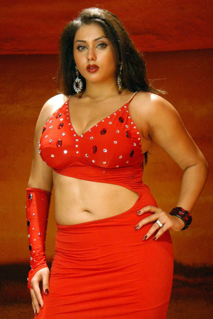 Namitha Sexy Spicy Navel Pics In Saree
