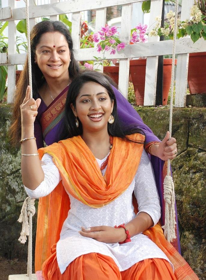 Navya Nair Lovely Bold Images