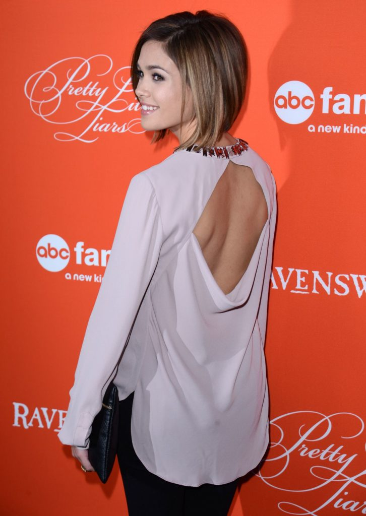 Nicole Gale Anderson Latest Hair Style Pics