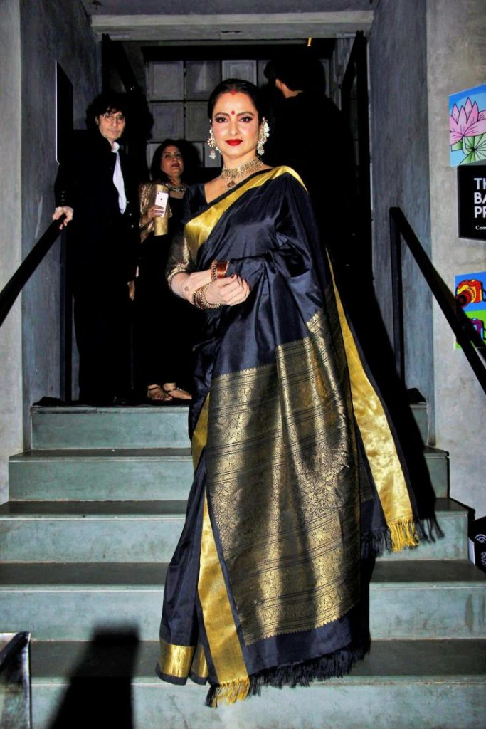 Rekha HD Pictures In Saree