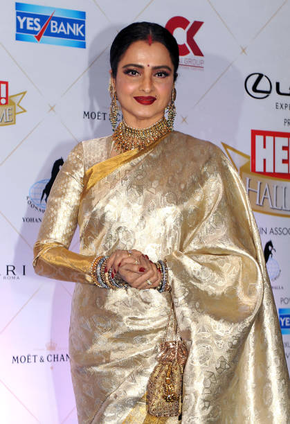 Rekha HD Sexy Pics In Saree