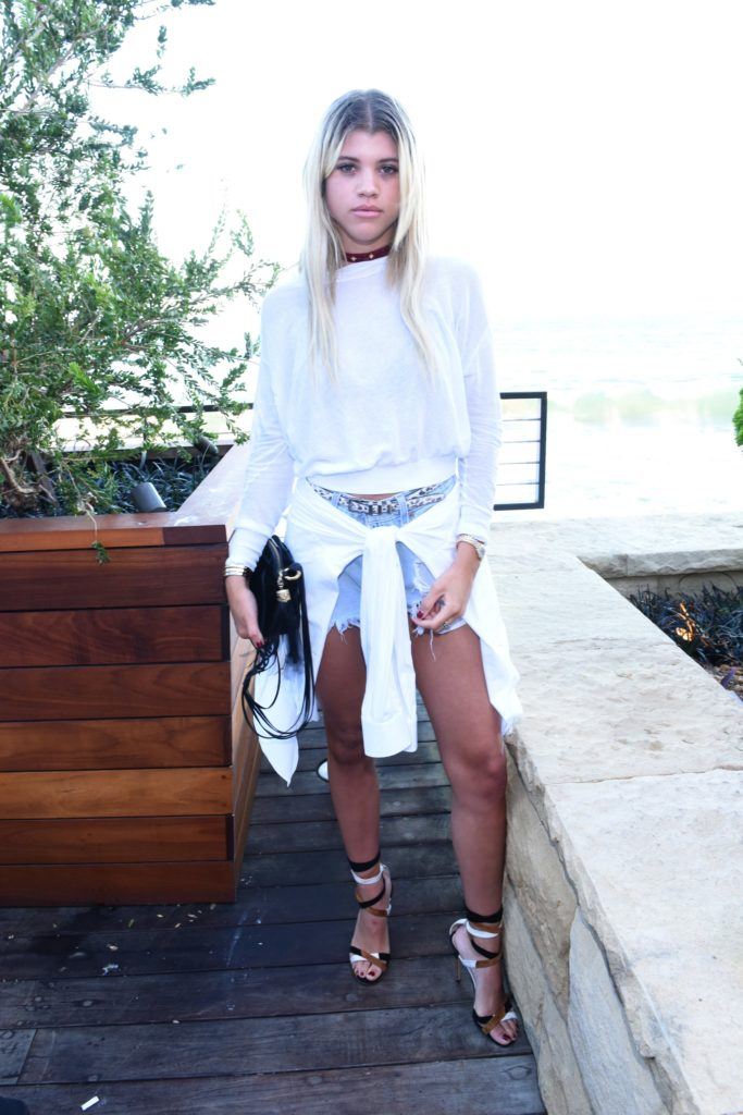Sofia Richie Images In Short Dress