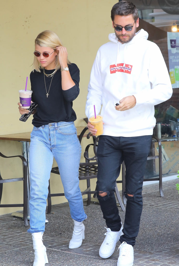 Sofia Richie Images With His Husband