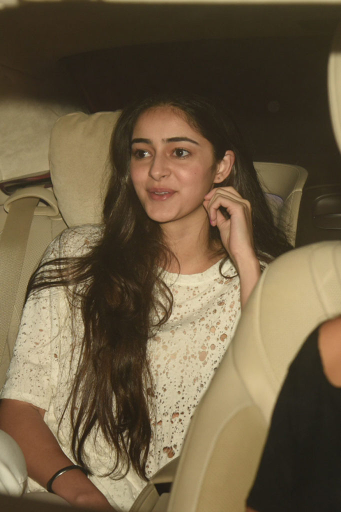 Student Of The Year Actress Ananya Pandey Pictures