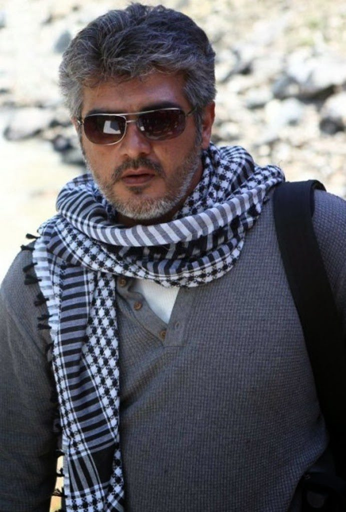 Ajith Kumar HD Pics With Sunglass