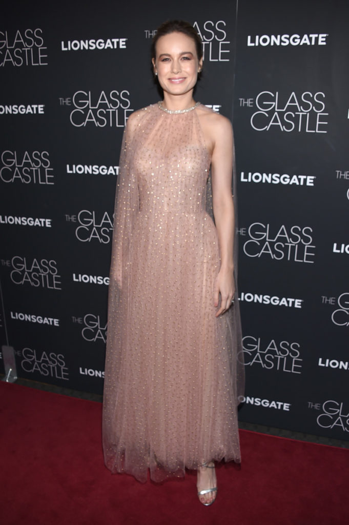 Brie Larson Images In Gown